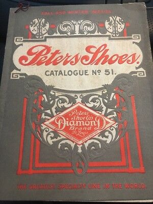 Vintage Peters Weatherbird Shoes Catalogue 1923-1924 St Louis