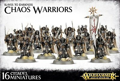 Warhammer Age of Sigmar: Slaves to Darkness Chaos Warriors 83-06