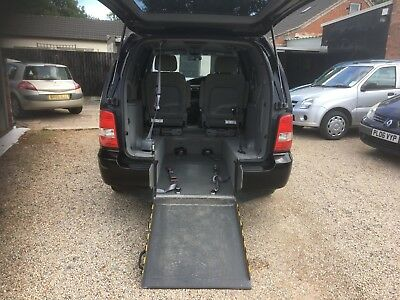 KIA Sedona 2.5 L 5dr, Wheelchair accessible Ex Motability, WAV 5 seats MPV