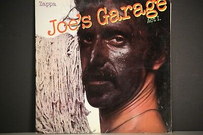 FRANK ZAPPA JOES GARAGE ACT 1 LP 1979 With Insert LP SRZ1-1603