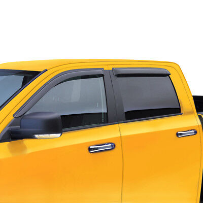 Window Visor Wind Deflector for 99-07 08 09 10 11 12 13 FORD F250//F350 EXT CAB