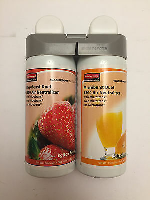 Rubbermaid Commercial 3485952 Microburst Duet 2-Fragrance Aerosol Berry/Citrus