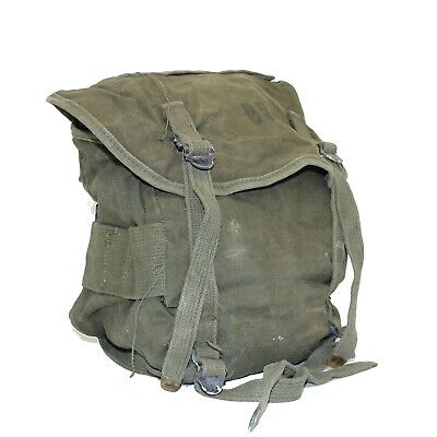 MILITARY SURPLUS Field Pack - Canvas - Combat - M-1961