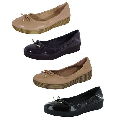 328e825980a FITFLOP WOMENS SUPERBENDY Ballerina Ballet Flat- Pick SZ Color ...