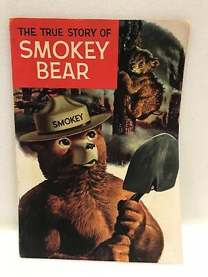 The True Story of Smokey the Bear 1969 Western Publishing Comic Book