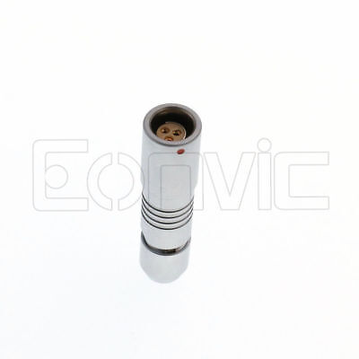Replace Fischer RS 3 Pin Connector Female Male fr Camera ARRI Alexa Cmotion