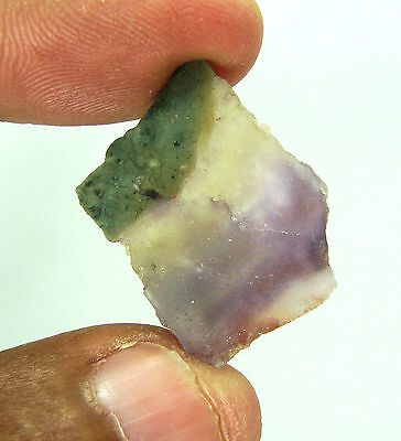 25.00 Ct Natural Bi-Color Fluorite  Loose Gemstone Rough Stone- RH171