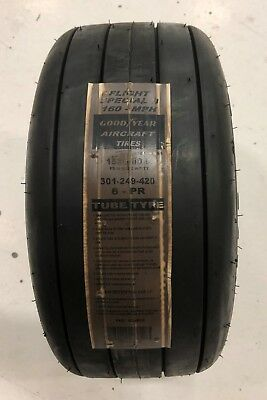 P/N 301-249-420 Goodyear 15X6.0-6 Aircraft Tire
