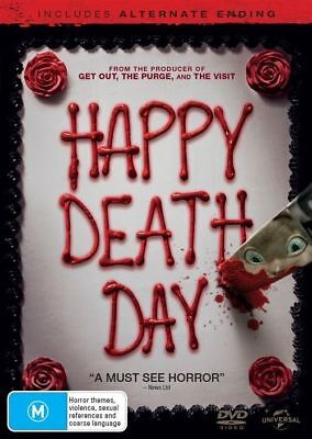 Happy Death Day Dvd, 2018 Release, New & Sealed, Region 4. Free Post