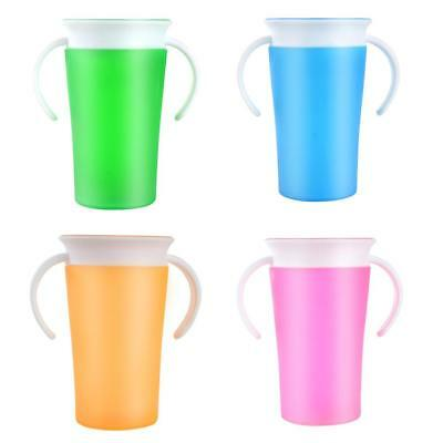 Toddler Kids Baby Sippy Cup 360 Degree Magic Leakproof Spill Proof Training Cup