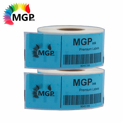 2 Compatible for Dymo/Seiko 99014 Blue Label 54mm x 101mm Labelwriter450 Turbo/