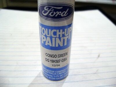 GENUINE FORD NOS AU BA BF FALCON CONGO GREEN TOUCH UP PAINT CODE DG 15ml W/BRUSH