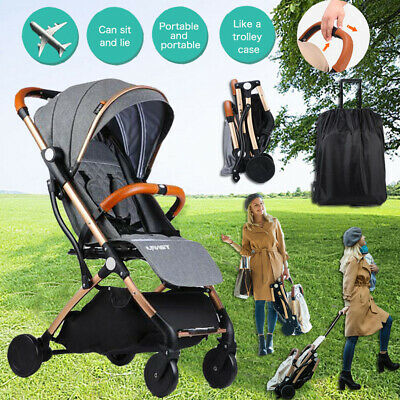 Portable Baby Stroller Pram Compact Lightweight Jogger Travel Carry-on