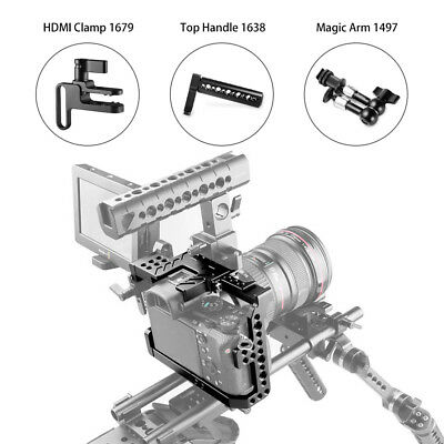 SmallRig Cage Camera Stabilizer Magic Arm Top Handle Kit For Sony A7SII A7RII
