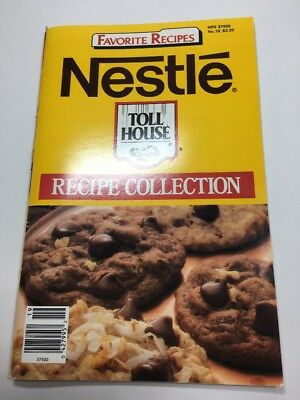 Favorite Recipes #19 Nestle Toll House Recipe Collection Vintage 1987 Cookbook