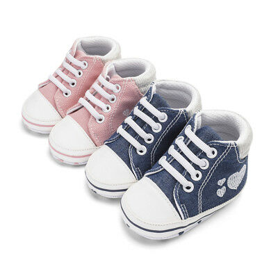 Hot Baby Girl Canvas Shoes / Toddler Slippers Sandals Trainers All UK Kids Sizes