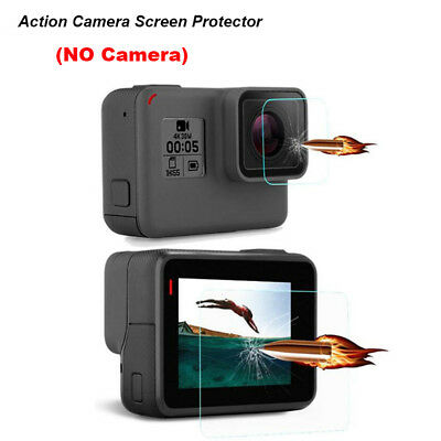 Hot Tempered Glass Protector HD Film For Go pro Hero 5 Camera Lens LCD Screen