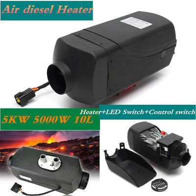 5KW 5000W 10L Air diesel Heater For Cars Truck Motor-home Boat Bus Van Trailer