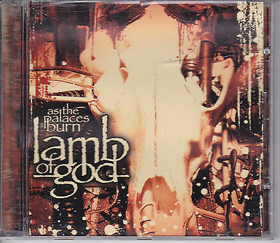 Lamb Of God As The Palaces Burn Cd From 2003 American Metal Band