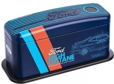 2018 FORD Motorsport High Octane CLEARANCE Empty Collectable Tin (No Coins)