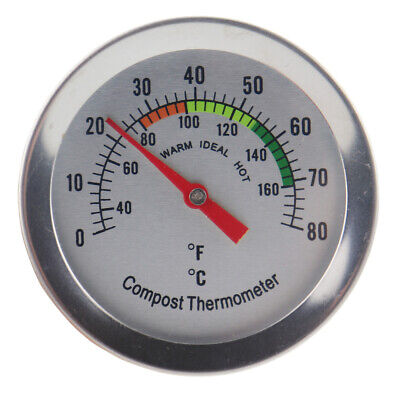 Compost Thermometer Backyard Composting - 50 Mm Dial & 295 Mm Probe - In-148