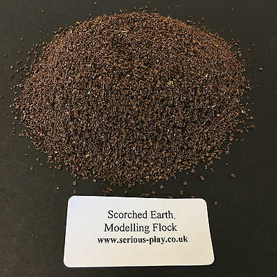 Scorched Earth Modelling Flock -Scatter Wargames Model Scenery Soil Mud Railway