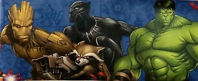 York Wallcoverings 9 Inch X 15 Feet Marvel characters Wallpaper Borders DY0263BD