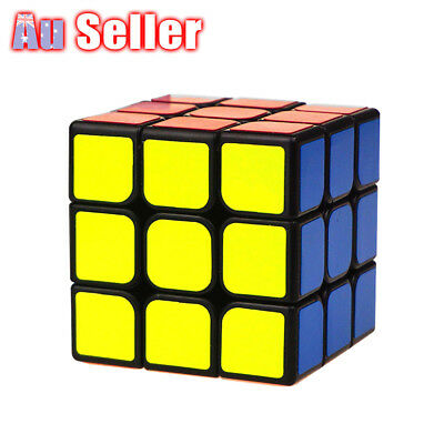 3x3x3 Fast Speed Super Puzzle Rubiks Rubix Magic Cube Smooth