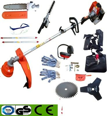 New 52cc 3.6HP Petrol Grass Strimmer and Brushcutter Engine Inc Accessory Kit