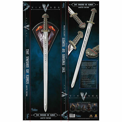 Vikings Ragnar Sword of Kings Limited Edition & Officially Licensed