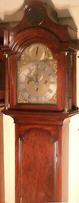 "Antique Mahogany Musical 8 Bells ""london ""  Longcase / Grandfather Clock"
