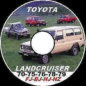 Toyota LandCruiser 70 73 74 75 Series Service Workshop Manual