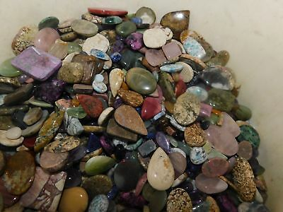 500Cts. Lot Wholesale Natural Cabochon Mix Shape Loose Gemstone 4731