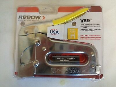 New Arrow T59 Wire And Cable Staple Gun
