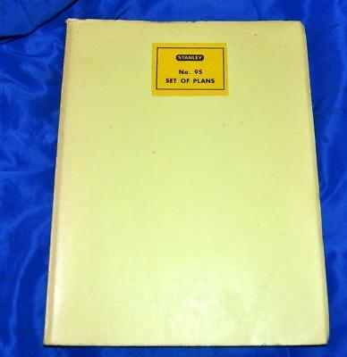 SCARCE STANLEY TOOLS WOODWORKING SET PLANS BOOK No 95 (96 PROJECTS)
