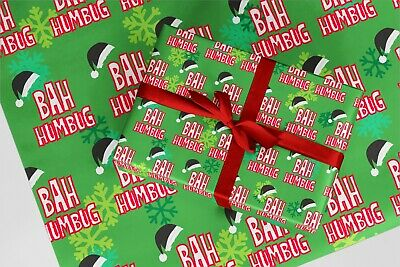 Rude Wrapping Paper 39 3 x Tw@ Blue Funny Naughty Gift Wrap Birthday Xmas