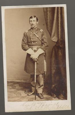 Civil War CDV Union Colonel George William Baird 32nd USCT Medal of Honor