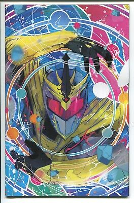 Mighty Morphin Power Rangers Shattered Grid #1 Ward Virgin Variant Cover - 1/25