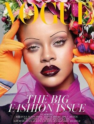 Vogue UK September 2018 Rhianna The Big Fashion Issue! Brand New Copy