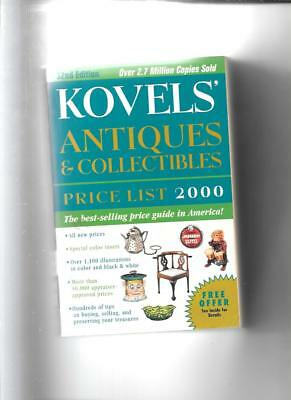 Kovel's Price Guide  2000