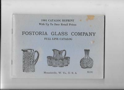 Fostoria Glass 1901 Catalog Reprint