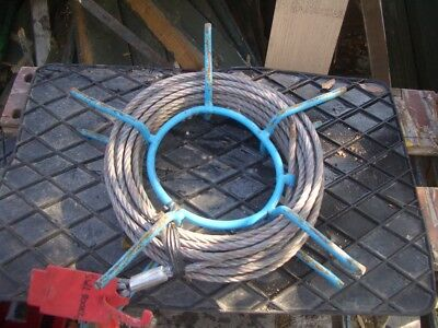 APPROX 20 METRE WIRE ROPE FOR TIRFOR TU8 ETC 8mm DIA 800KG SWL VAT INC SRA12