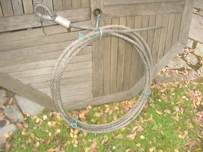 APPROX 10 METRE WIRE ROPE FOR 3 TON TIRFOR TU32 WINCHES & OTHERS 16.2mm  SRA3