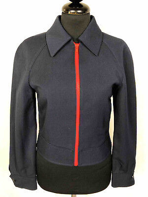 CULT VINTAGE '70 Giubbotto Giacca Donna Lana Wool Woman Jacket Sz.XS - 38