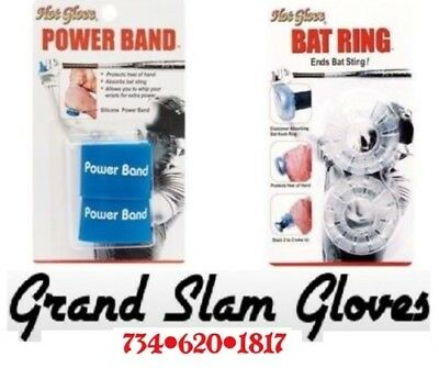 Unique Sports🔹Hot Glove🔹Shock Absorbing Bat Rings & Power Bands ⚾️2 Pack ⚾️New