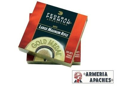 Inneschi FEDERAL Gold Medal Match LARGE MAGNUM RIFLE GM215M (100pz)