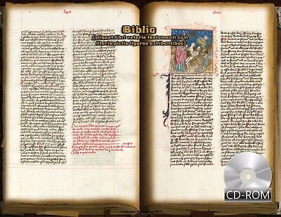 Bible (Old Testament) of the Ratisbon Dominican Order 1450 AD Latin Manuscript