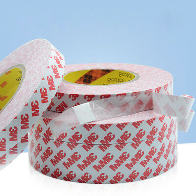 3M Double-sided Super Sticky Heavy Duty Adhesive Tape (5mm-100mm) x 50m Long