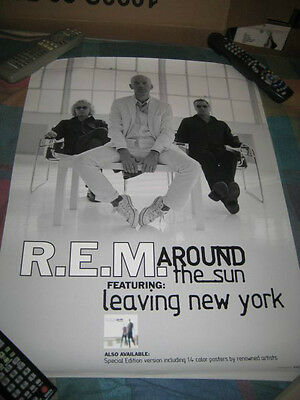 R.E.M.-(around the sun)-1 POSTER-18X24-NMINT-RARE