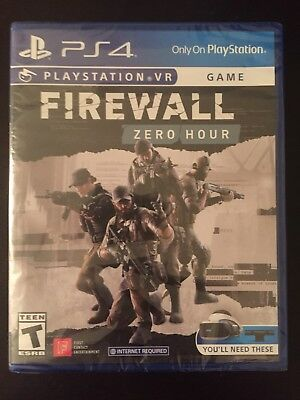 Firewall: Zero Hour VR (PlayStation 4 PSVR) BRAND NEW & FACTORY SEALED!!!! ps4